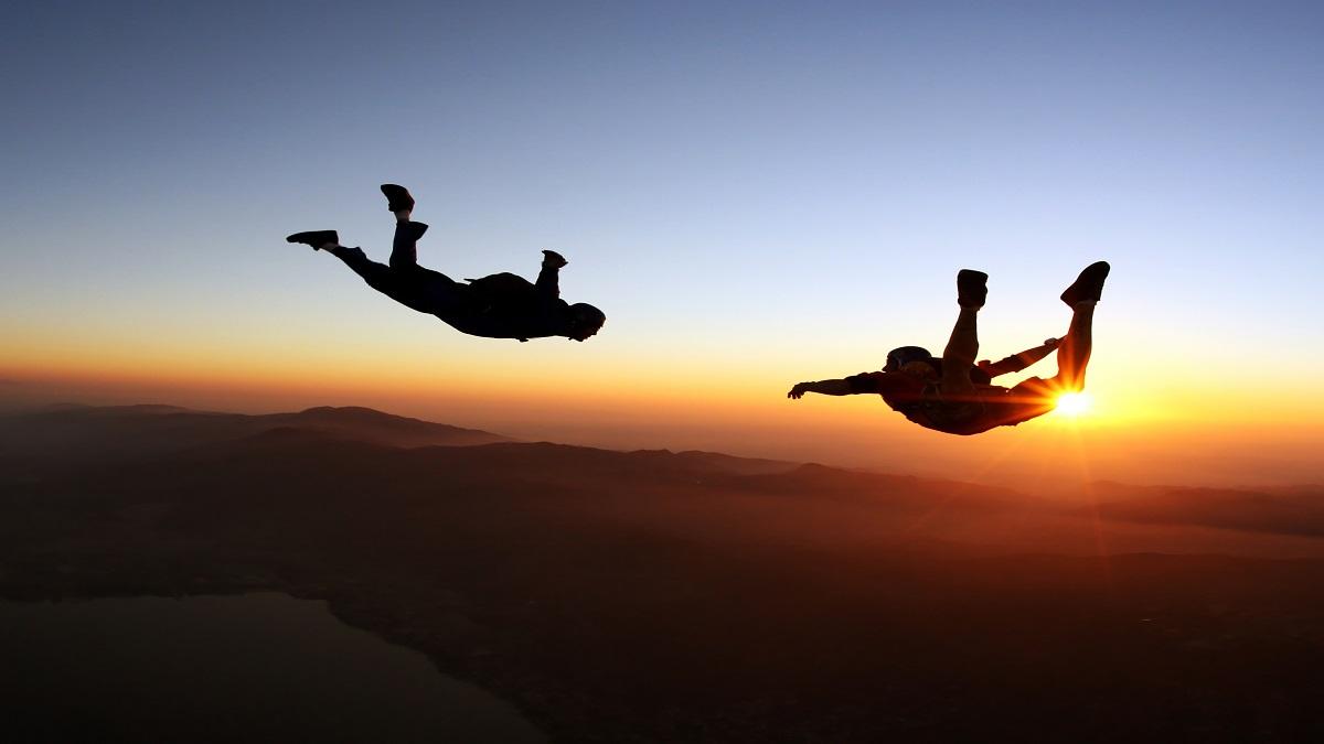 Metaphor Sky Diving Risk